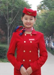 陕西蓝天民航技师学院在高端专列就业的学生王妍