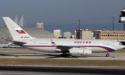 """俄罗斯总统专机被称为""""飞行的宫殿"""""""