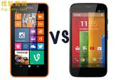 Lumia 630 vs Moto G:千元廉价机的对决