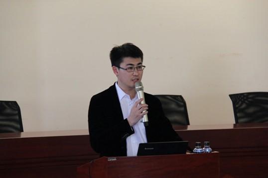 团首席行政官、远东大学执行校长周东佼主持讲座-蒋锡培开讲 共画图片