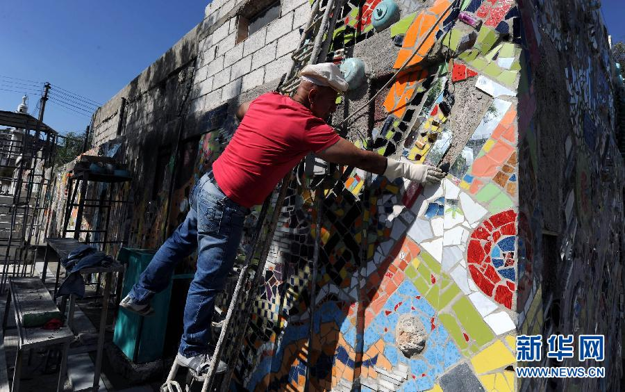 叙利亚环保壁画:重燃生活的希望(高清)