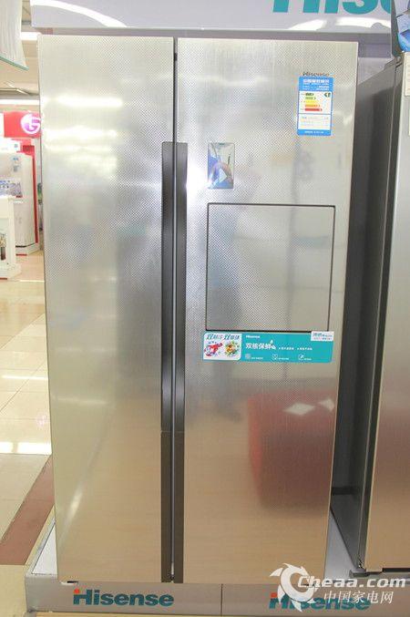 海信BCD-642WVBP/T冰箱整体外观
