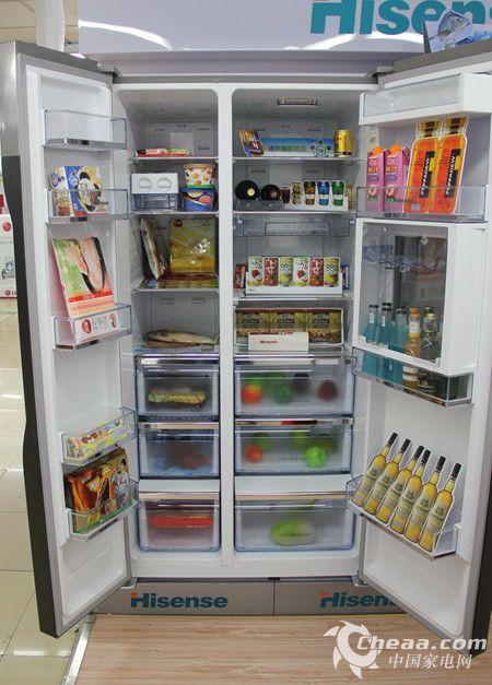 海信BCD-642WVBP/T冰箱内部概览