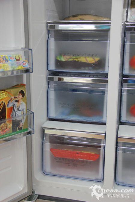 海信BCD-642WVBP/T冰箱冷冻室