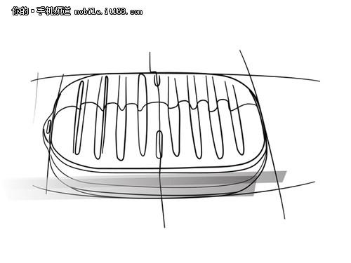 momax摩米士go mini小旅行箱手绘图