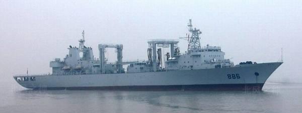 886号千岛湖舰。