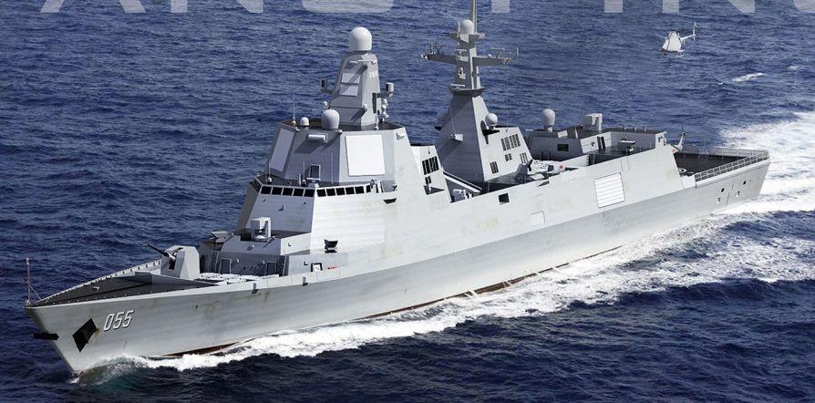 大胆级驱逐舰_俄媒:中国或明年开建万吨级055型新一代驱逐舰(图)