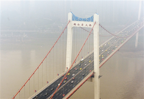 重庆市鹅公岩大桥防雷整改工程