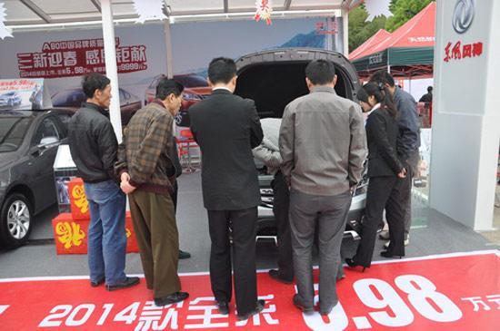 2014名城巡展 练就选车火眼选择东风风神高清图片