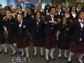 《艾伦秀第11季片花》S11E133 贫困学生唱艾伦秀主题曲爆红