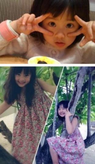 黄磊的女儿黄多多俨然是一个小美女