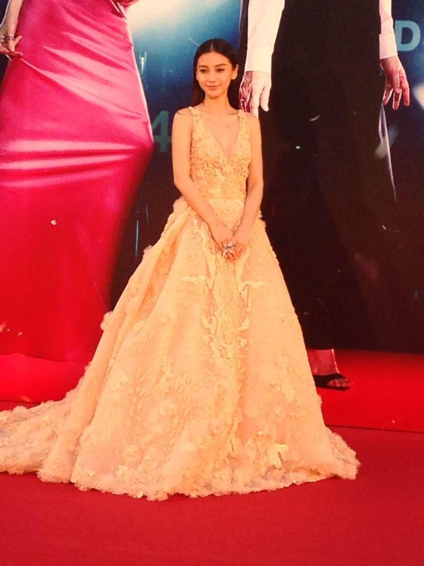 第33届香港金像奖红毯星光熠熠