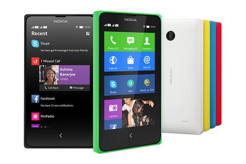 诺基亚发布安卓手机:Nokia X、X+以及XL