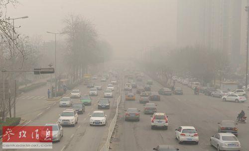 京津冀大气污染严重:每月约20天空气不达标