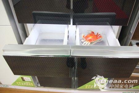 容声BCD-430WPMB/A冰箱变温室