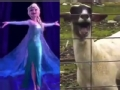 《艾伦秀第11季片花》S11E134 羊叫版《LET IT GO》