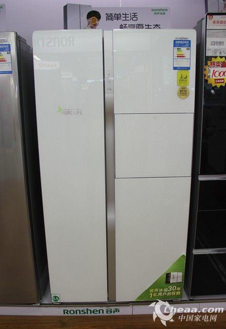 容声BCD-616WPMB/T冰箱整体外观