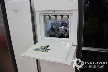 容声BCD-616WPMB/T冰箱吧台