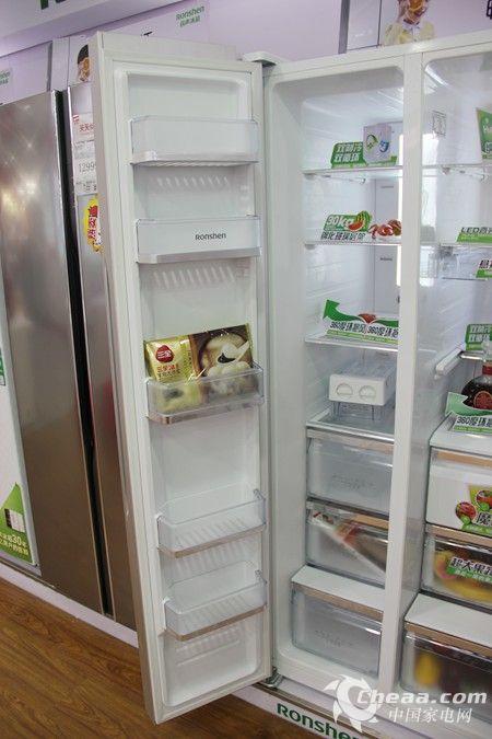 容声BCD-616WPMB/T冰箱冷冻室