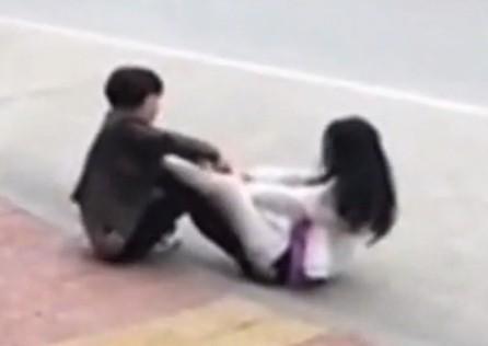 漳州女当街打小三视频疯传