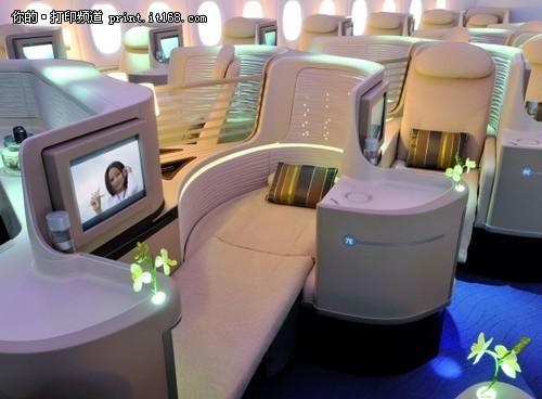 这些实体模型将向那些来自航空公司的客户展示奢侈而舒适的长途飞行是什么样子,以打动那些潜在的买家,使其下决心预订像A380这样的宽体飞机。