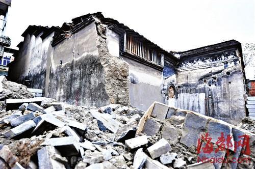 清末海军将领邓家骅故居被拆 已成断壁残垣