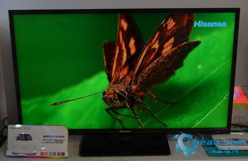 海信LED40K160JD电视实拍