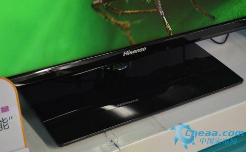 海信LED40K160JD电视底座实拍