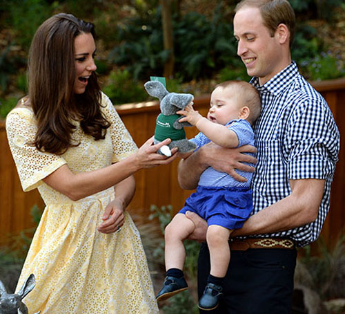 威廉王子一家