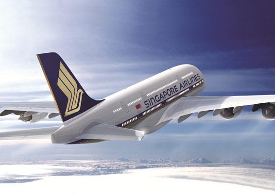 新航A380客机