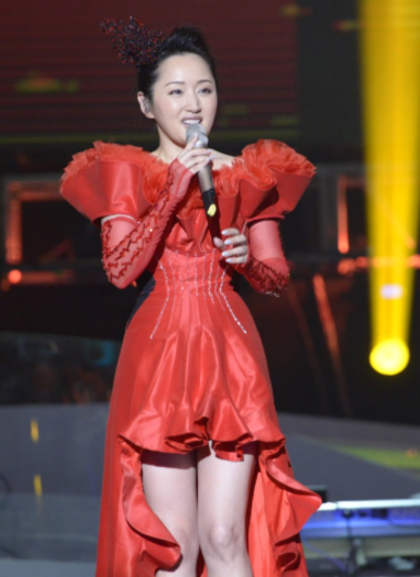 杨钰莹演唱会2014 毛宁杨钰莹牵手深情对唱掀