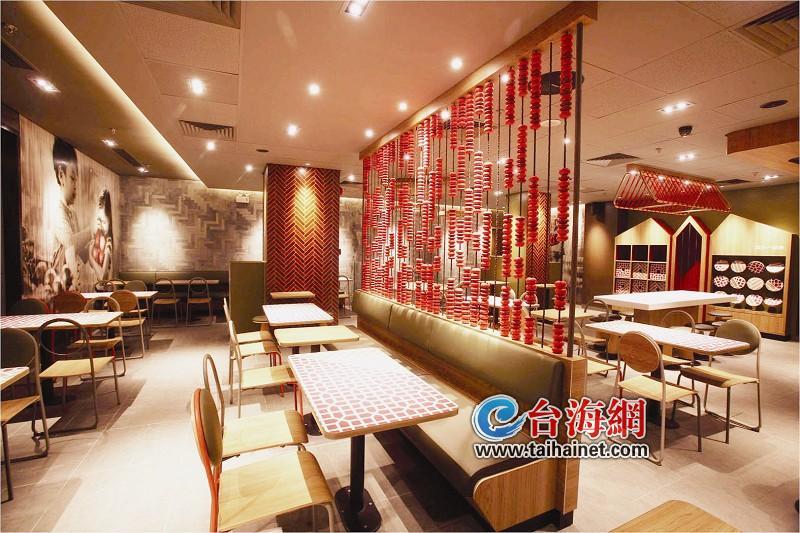 """""""中国风""""餐厅将""""登鹭""""(图)图片"""