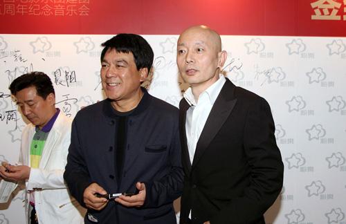 葛优、朱时茂亮相中国电影乐团65周年音乐会