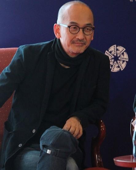 李浚益在4月22日出席北京电影节新片记者会。【点击查看组图】