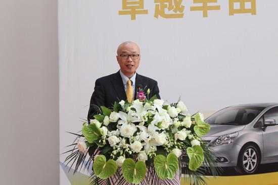 广汽丰田汽车有限公司副总经理兼兼销售本部部长松井秀司
