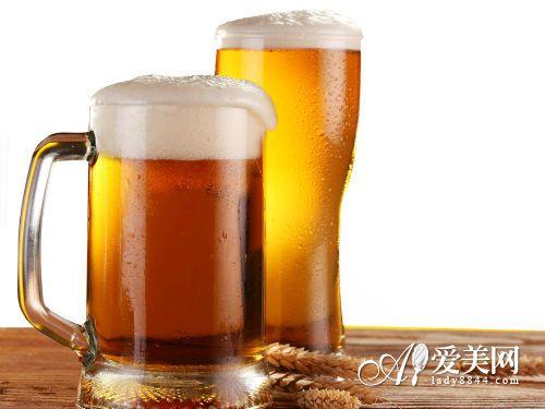 5、爱喝啤酒
