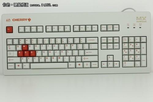 60周年纪念版 cherry g80-3060键盘详解图片