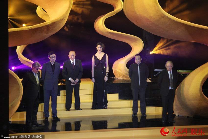 快讯:第四届北京国际电影节颁奖礼 评委会成员亮相(图图片