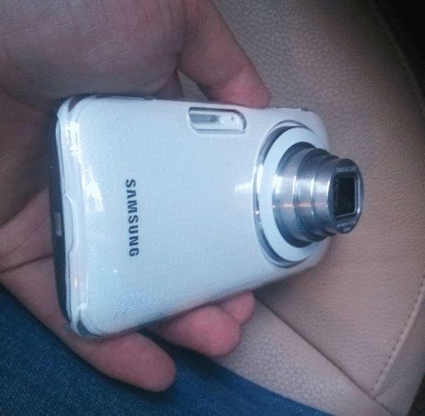 三星Galaxy K(S5 Zoom)真机谍照曝光