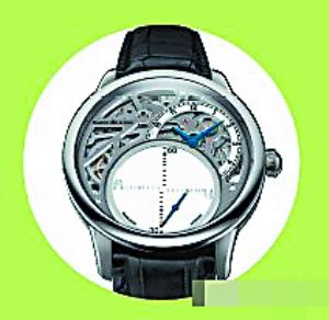 神秘秒针腕表