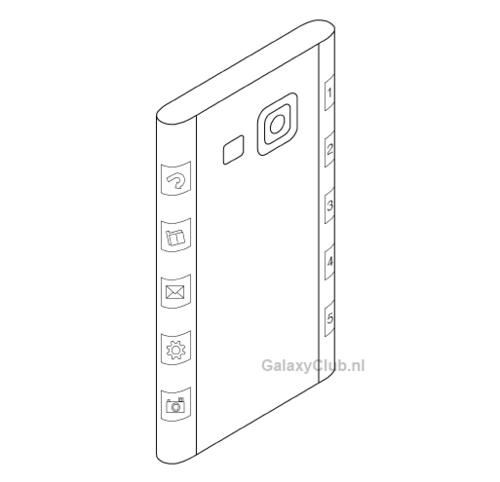 三星曲面平新专利曝光 或用于Note 4身上