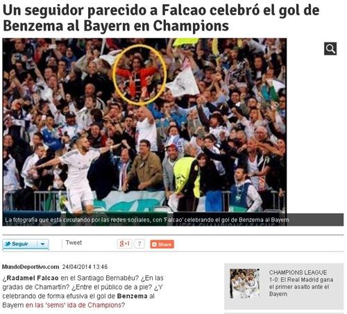 《世界体育报》截图
