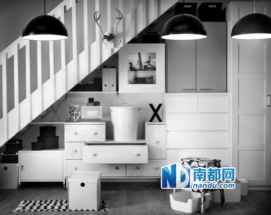空间 设计 楼梯/楼梯下可以放置一些设计巧妙的多功能收纳组合。