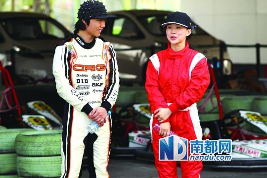 教潘晓婷挑战维特尔的马青骅,而今已转战房车锦标赛。