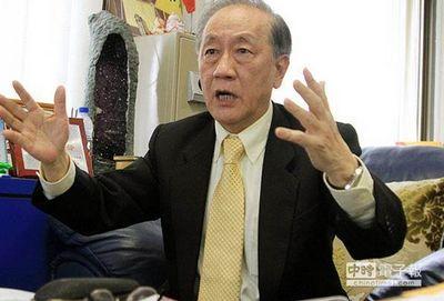 """郁慕明指出,民主政治不是""""以死相逼"""",台当局如今动辄得咎,干脆让所有的核电厂都停止运转,半年后""""看看谁受得起""""。(图片来源:台湾《中国时报》)"""