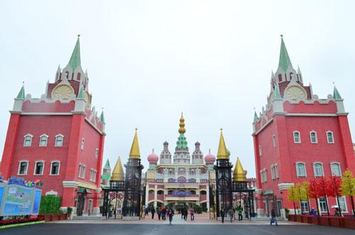 俄罗斯风情建筑