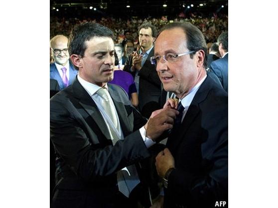 法国新总理瓦尔斯支持率高 或成奥朗德最大威胁