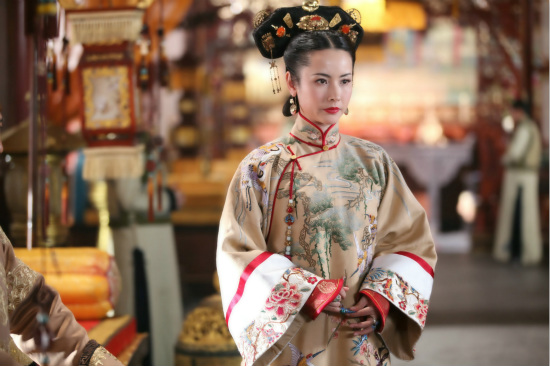 宫锁连城 热播 皇后 杨明娜获观众力挺