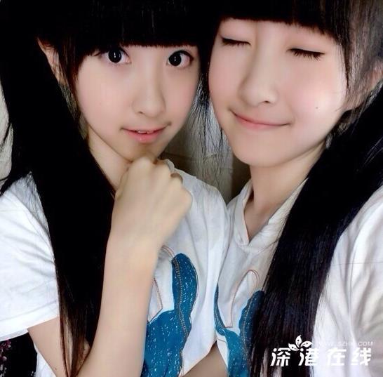 台湾sandy和mandy近照今年多大了 图 台湾超红双胞胎小高清图片