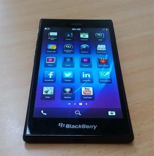黑莓Z3接受预定(图片引自n4bb)
